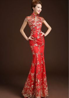 Cheongsam Long Dress DD14006