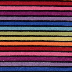 """MY STRIPES"" Jersey Black Rainbow"