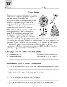 #ClippedOnIssuu from refuerzo lengua cuarto Spanish Class, Teaching Spanish, Learn Spanish Free, Learning Sight Words, Beginning Of Year, Reading Practice, Home Schooling, Science And Nature, Reading Comprehension