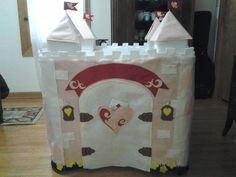 Fairytale Princess Castle Felt Playhouse - Gorgeous And Tons Of Interactive…