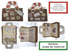 Christmas Around The World Unit...maybe make for a reg all year thing