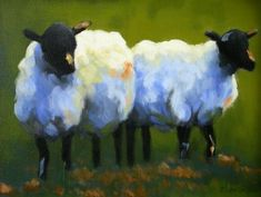 susan clanton art - for some sheep inspiration