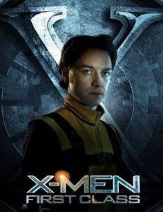 James McAvoy as Charles Xavier / Professor X   X-Men: First Class (2011).