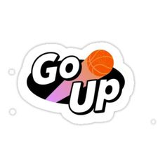 """""""we go up """" Stickers by"""