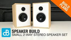 Videos for the Speaker Building, DIY, and Consumer Electronic Enthusiast. How To videos, product demonstrations, educational resources and customer videos. Wooden Speakers, Home Speakers, Built In Speakers, Stereo Speakers, Fun Projects, Project Ideas, Hifi Audio, 2 Way, Speaker Building