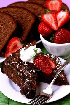 Valentine's Day Chocolate Brioche French Toast