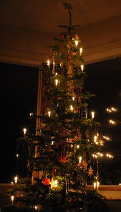 Having candles on your Christmas tree is safe.   It also adds an amazing magic to Christmas