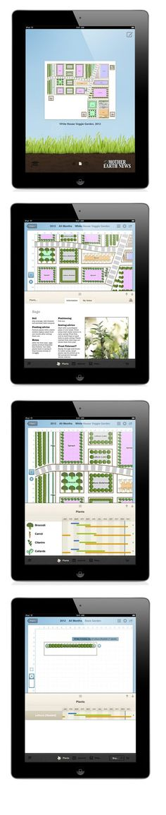 The Grow Planner app for iPad from MOTHER EARTH NEWS provides an easy way to plan your vegetable garden. Based on our award-winning Vegetable Garden Planner, the Grow Planner makes it simple to sketch out your growing area, add plants and rearrange them to get the perfect layout.