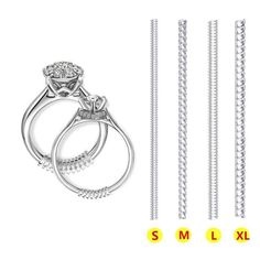 Lystaii Finger Sizing Measuring Stick Metal Ring Mandrel Sizer Metal Mandrel with Ring Sizer Guage Set of 27 Pcs Circle Models Jewelry Sizer Tool