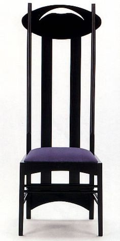 Sale on line of Charles Rennie Mackintosh Hill House, Mackintosh chair, sedia hill, mackintosh argyle chair directly from the factory the great masters of Bauhaus furniture. Mackintosh Chair, Mackintosh Furniture, Mackintosh Design, Charles Rennie Mackintosh, Design Furniture, Cool Furniture, Modern Furniture, Art Nouveau, Design Vitrail