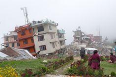Gosainkund Trek, das zerstoerte Chisapani nach dem Beben