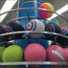 I would be willing to bet that one reason for this Ball Race Track Overhead Merchandising is that it is just too much fun set at lower level. Track, Basketball, Racing, Display, Fun, Inspiration, Running, Floor Space, Biblical Inspiration