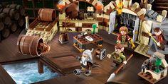 LEGO.com The Hobbit™ Products - Barrel Escape