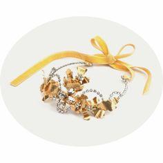 Josephine: Couronne Vintage Tiara Handmade Mariage Wedding Accessories - Cécile Boccara