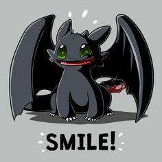 Smile! t-shirt Dreamworks TeeTurtle