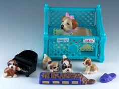 Vintage Littlest PET Shop Nuzzletime Nursery Beethoven'S 2nd 1993 Kenner