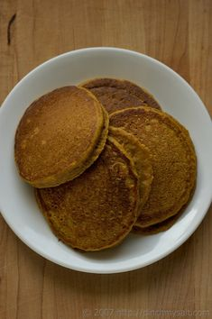 Whole Wheat Pumpkin Pancakes...SO GOOOOD! I use an extra 1/2 tsp of baking powder, make sure the milk is at about room temp, and ADD 1/2 CUP OF SEMI-SWEET CHOCOLATE CHIPS!!! :D