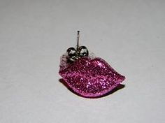 Glitter Lip Stud Earrings $2.50. Visit ismchick.com and use the promo code HVD14 to receive 14% off purchase. FREE SHIPPING and more DISCOUNTS available.