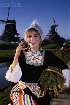 12-11-11  Dutch Stereotypes  The stereotypes of the Netherlands: A blond woman, marijuana, and windmills.