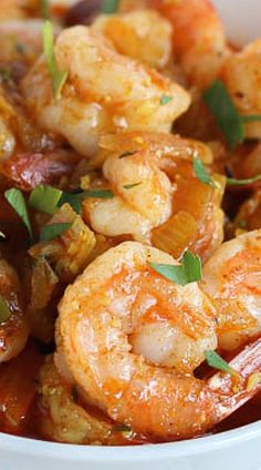 Caribbean Curried Shrimp S✧s Fish Recipes, Seafood Recipes, Cooking Recipes, Healthy Recipes, Jamaican Dishes, Jamaican Recipes, Shrimp Dishes, Fish Dishes, Seafood Dinner