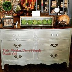 Painted furniture using The Couture Collection! - Paint Couture! By Flair - Finishes, Decor & Supply