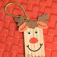 Un nuevo brico navideño para hoy.  Hoy te presentamos un brico para que realices junto con los peques de la casa un reno.