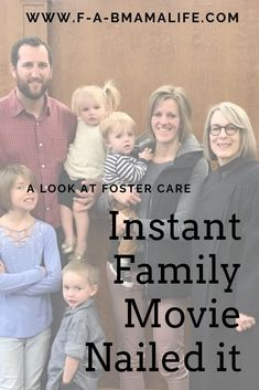My family is Instant Family. Every moment struck me in this movie as real life. Step Parent Adoption, Open Adoption, Foster Care Adoption, Adoption Day, Adoption Stories, Foster Family, Foster Mom, Adoptive Parents, Step Parenting