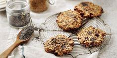 Marové musli, pohankové sušenky, zázvorový chlebíček, briošky s rozinkami