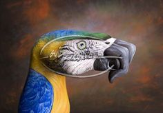 Hand Art by Guido Daniele. It's incredible the detail and realism he achieves. (http://www.guidodaniele.com/mani01.htm)