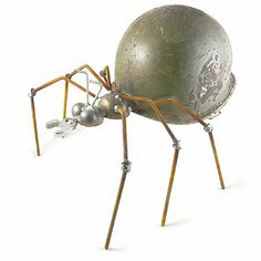 I just bought this!  Love it Army Ant - Recycled Metal Garden Sculpture