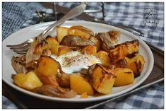 Ziemniaki i boczniaki Pot Roast, Pork, Ethnic Recipes, Sweet, Places, Fit, Blog, Carne Asada, Kale Stir Fry