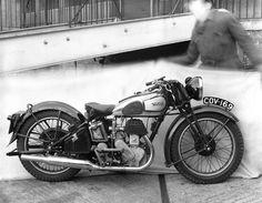 Vintage Norton Motorcycles: Two 16H Nortons