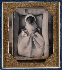 "The ""Genushe (animal post-mortem)"", ca. 1845-46 may be a little odd to viewers in 2014, but during the mid-19th Century it was common to use photography as a means of remembering a deceased loved one. It is possible this little bunny was a cherished pet or it was used to mock the custom. To find out more, come see ""In the Looking Glass: Recent Daguerreotype Acquisitions"". Admission is free. http://www.nelson-atkins.org/art/exhibitions/dag-looking-glass.cfm"