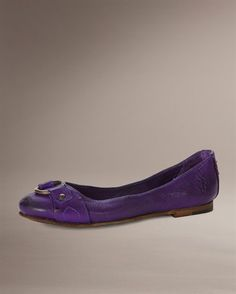 it comes in other colors for those of you who aren't obsessed with purple :)  Frye Carson Harness Ballet