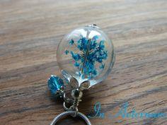 *Echte Dillblüte* Glaskugelkette  von In Aeternum auf DaWanda.com