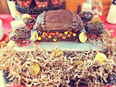 Pirate Party - Treasure Chest Cake