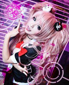 Junko Enoshima - Anime : Danganronpa Cosplayer : Misa (Taiwan) - #cosplay…