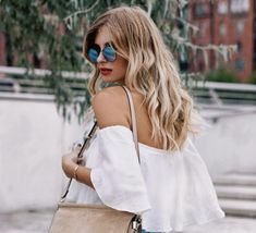 Summer blonde balayage by Xenia van der Woodsen