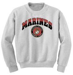 MCD - Classic Marine Corps Sweatshirt - Marine Corps Direct
