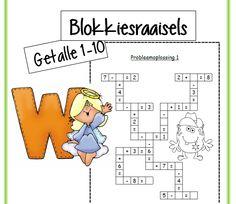 3 Blokkiesraaisels met plus somme tot by die getal 10. Perfek vir die begin van 'n les. Baie oulik om die dag af te sluit met 'n oulike aktiwiteit.