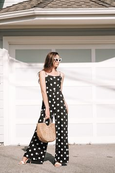 Polka dots are the perfect Spring and Summer print! There is something so fun, yet sophisticated about the print that I love to style! #fashion #womensfashion #fashionblogger #blog #blogger #style #springstyle #summerfashion #summer #trends #ootd