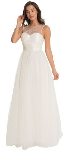 Chi Chi London svatební šaty Zariah, bílé
