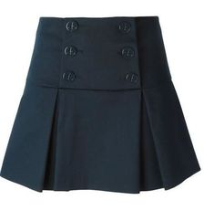 Patrón falda con solapa y pliegues