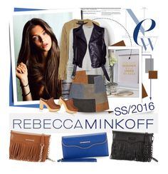 """""""Style Rebecca Minkoff's Spring 2016 Collection Now"""" by hamaly ❤ liked on Polyvore featuring Rebecca Minkoff, ThePerfext, Polaroid, MiH, Proenza Schouler, RUFFO, rebeccaminkoff, fashionWeek, contestentry and ss2016"""