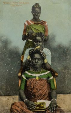 Smithsonian Exhibit Of Vintage African Postcards Reveals Surprising History : Goats and Soda : NPR African Culture, African History, African Art, African Life, Africa Tribes, Exotic Art, History Of Photography, Photography Studios, Postcard Printing