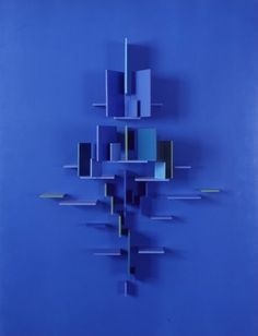 Charles Biederman- Structurist work number 28, Red Wing (1960) aluminium, paint