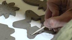TV KRALUPY  Výroba ozdob a dekorací z keramiky
