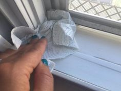 Don't Waste Time Cleaning Dirty Window Tracks. Use This Super Quick Method to…