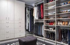 Walk-In Closet Organizers in Atlanta, GA │ Closet Designs and Custom Walk In Closets, Custom Closet Design, Closet Designs, Open Closets, Dream Closets, Wardrobe Closet, Master Closet, Master Bedroom, Reach In Closet