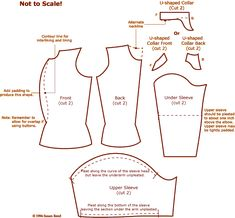 Cutting diagram for doublet having a Four-piece body, U-shaped collar and longer upper sleeves - also most excellent article on c doublets on this site. Renaissance Costume, Renaissance Men, Medieval Costume, Renaissance Clothing, Medieval Fashion, Medieval Dress, Clothing And Textile, Clothing Patterns, Sewing Patterns